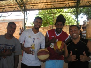 Zulu, Paulo, Edgar e The Professor
