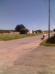 Vista da Rua Jacob entre SQ 16 e Suleste