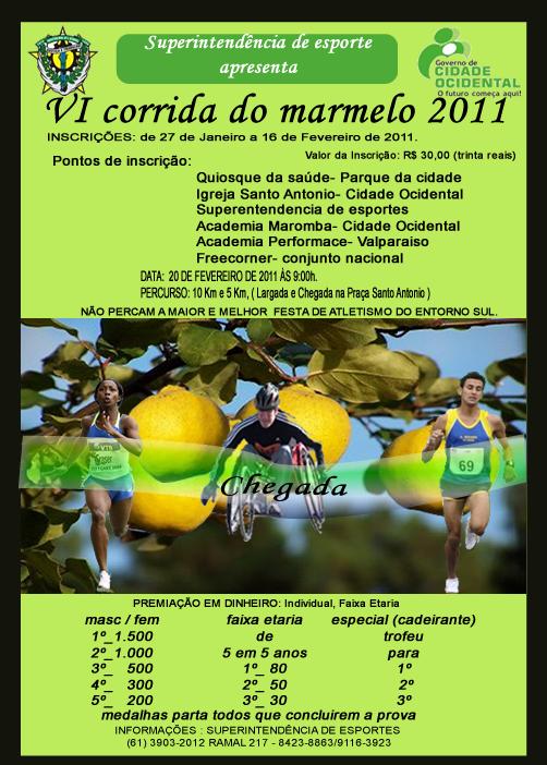 Corrida do Marmelo 2011