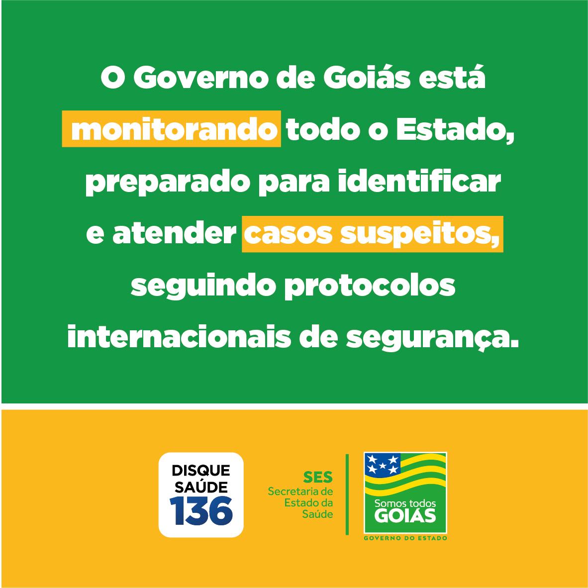 Boletim Covid-19 Goiás